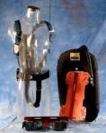 Sistema light 15L piastra alluminio supporto bombola sacco cordura comandi plastica