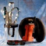 Sistema medium 20L piastra alluminio supporto bombola sacco cordura comandi plastica