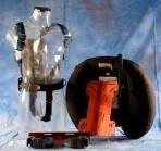 Sistema heavy 30L piastra alluminio supporto bombola sacco cordura comandi plastica